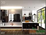 Tủ bếp Acrilic
