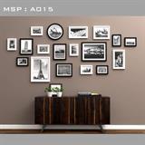 Bộ khung ảnh treo tường cao cấp A015