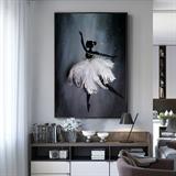 Tranh treo tường cô gái múa bale đẹp