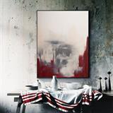 Tranh trừu tượng theo phong cách hiện đại decor N0100