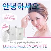 MẶT NẠ DƯỠNG TRẮNG Ultimate Mask SNOWHITE