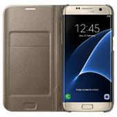 Bao da Led view Samsung Galaxy S7 Edge chính hãng ( vàng, bạc)
