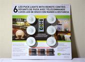 Bộ đèn led điều khiển từ xa Capstone wireless Puck Lights