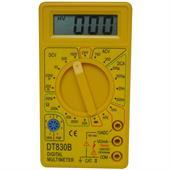 Đồng hồ số DT-830B màu vàng