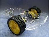 Khung xe robot 3 bánh – Khung Mica