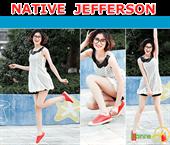Giày Native Jefferson Hàng Xuất Dư Màu Đỏ