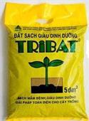 Đất sạch Tribat (rau ăn lá, hoa, cây cảnh) 5dm3
