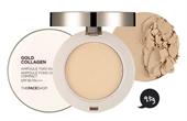 Phấn Nén Gold Collagen Ampoule Two-way Pact The Face Shop