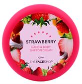 Kem Dưỡng Tay Hand & Body Shiffon Cream The Face Shop