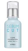 Kem Nền A'Pieu Sebum Cut Clear Foundation SPF40 PA+++