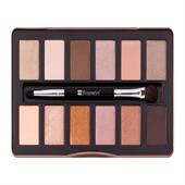 Bảng Phấn Mắt BH Cosmetics Nude Rose 12 Color Eyeshadow Palette