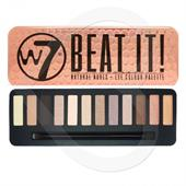 Bảng Phấn Mắt W7 Beat It Natural Nude