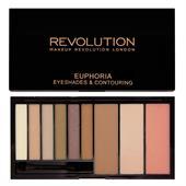 Bảng Phấn Mắt Tạo Khối Makeup Revolution Euphoria Eyeshadow & Contouring Bronzed Palette