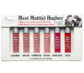 Set Son Kem Mini The Balm Meet Matt(e) Hughes Long-lasting Liquid Lipstick Set