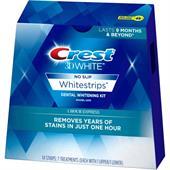 Miếng Dán Trắng Răng Crest 3D White 1-Hour Express