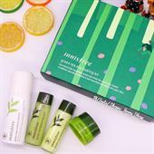 Bộ Dưỡng Da Trà Xanh Innisfree Green Tea Eco Healing Eco Kit