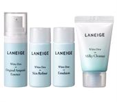 Bộ Dưỡng Trắng Da Cấp Ẩm Laneige White Dew Trial Kit (4 Items)