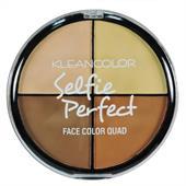 Phấn Tạo Khối Klean Color Selfie Perfect Face Colour Quad