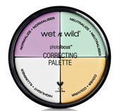 Bảng Che Khuyết Điểm 4 Ô Wet N Wild Photofocus Correcting Palette