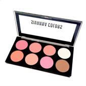 Bảng Phấn Má 8 Ô Sivanna Colors Ultra Blush Palette