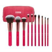 Bộ Cọ Trang Điểm 10 Cây BH Cosmetics Bombshell Beauty 10 Piece Brush Set