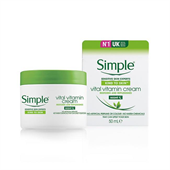 Kem Dưỡng Da Simple Kind To Skin Vital Vitamin