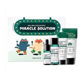 Bộ Trị Mụn Mini 4 Sản Phẩm Some By Mi AHA BHA PHA 30 Days Miracle Solution