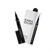 Kẻ Mắt Dạ Karadium Waterproof Brush Liner Black