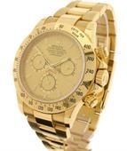 Đồng hồ automatic phong cách rolex Gold Daytona