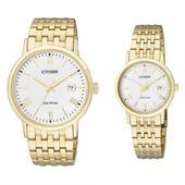 Đồng hồ đôi Citizen BM6772-56A và EW1582-54A