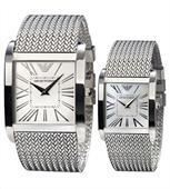 Đồng hồ đôi cao cấp chính hãng Armani AR2014 và AR2015
