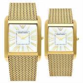 Đồng hồ đôi cao cấp chính hãng Armani AR2016 và AR2017