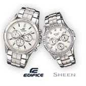 Đồng hồ đôi cao cấp Casio SHN-3013D và EF-554D
