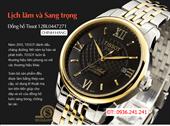Đồng hồ nam Tissot 12bl black gold