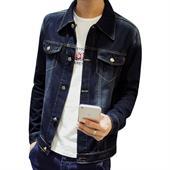 Áo khoác jeans nam style Hàn Hissse