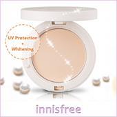 Phấn phủ nén trắng mịn da Mineral UV Whitening Pact SPF50+/PA+++