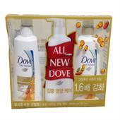 Bộ Dầu Gội Dove Hàn Quốc Set 3 2 Gội + 1 Xả 500 ML