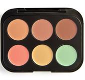 Che Khuyết Điểm BHCosmetics 6 Color Concealer & Corrector