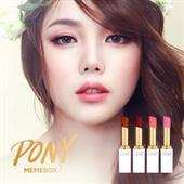 Pony Blossom Lipstick Pony x Memebox