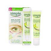 Lăn Dưỡng Mắt Simple Kind To Skin Revitalising Eye Roll-On