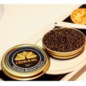 Trứng cá tầm Premium Nga Beluga  - Caviar De Duc
