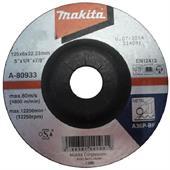 Đá mài cho kim loại Makita 125x6x22.23mm-A-80933