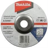 Đá mài cho kim loại Makita 150x6x22.23mm-A-84981