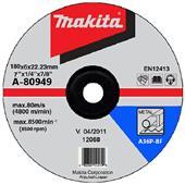 Đá mài cho kim loại Makita 180x6x22.23mm-A-80949