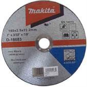 Đá cắt cho kim loại Makita Ø180x2.5x22.23mm-D-18683