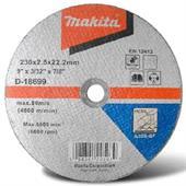 Đá cắt cho kim loại Makita Ø230x2.5x22.23mm-D-18699
