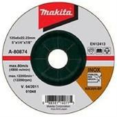 Đá mài cho Inox Makita 125x6x22.23mm-A-80874