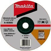 Đá mài cho Inox Makita 180x6x22.23mm-A-80880