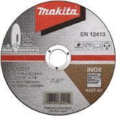 Đá cắt cho Inox Makita D150x1.6x22.23mm-B-12251