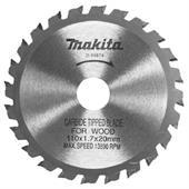 Lưỡi cưa gỗ hợp kim Makita D110xx24Tx20mm D-15578